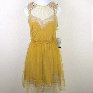 Rodarte Women's sleeveless mini dress